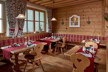 Our cozy and rustic restaurant...
